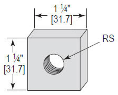 Picture for category Concrete Insert Nut