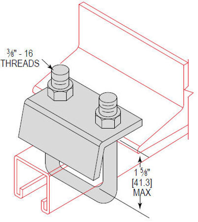 Picture for category Beam Clamp to Strut